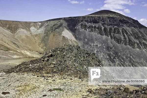 Vulkanlandschaft im Itcha Gebirge in British Columbia  Kanada.