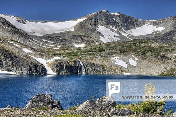 See in Charlotte-Alplands innerhalb der Chilcotin-Region von British Columbia Kanada