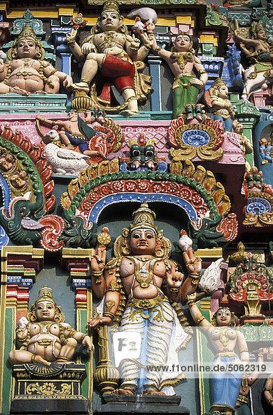 Sculpture on Sarangapani temple India  Tamil Nadu  Kumakonam