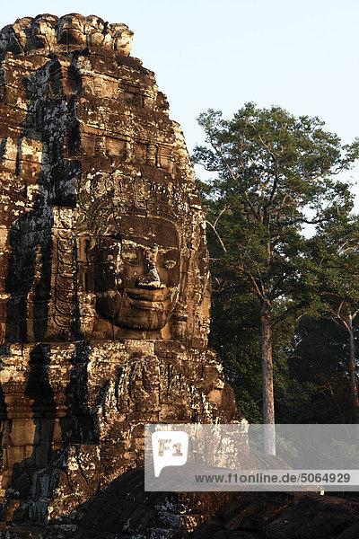 Cambodia  Siem Reap  Angkor  Bayon Buddhist Temple