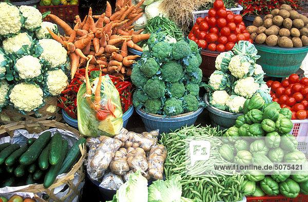 Indonesien  Bali  Markt in Bedugul