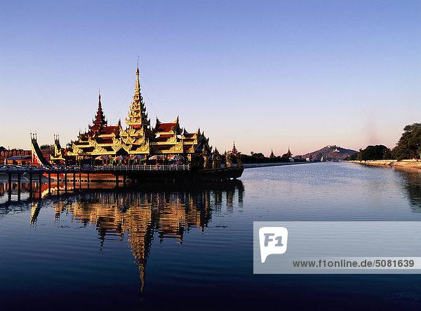 Myanmar  Königspalast von Mandalay