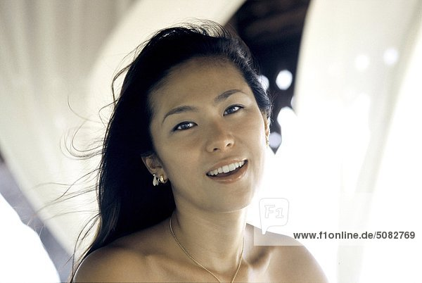 Portrait einer japanischen Frau