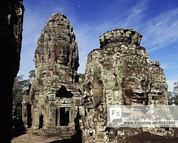 The Bayon temple (late 12th century-early 13th)  Angkor Thom  Angkor  Cambodia