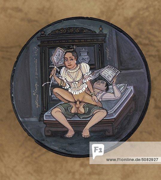 Thailand  Mini-Erotik Malerei