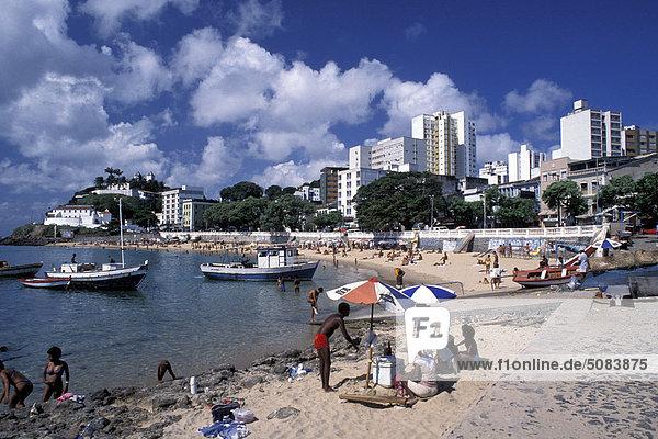 Brazil  Bahia: Porto da Barra beach