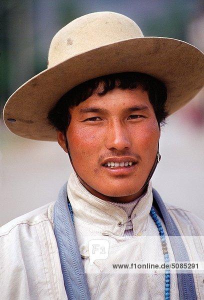 Portrait  China  Tibet