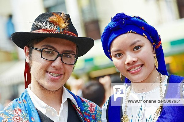 Organisation  organisieren  Tradition  tanzen  Regierung  zeigen  China  Jesus Christus  Mensch  portugiesisch