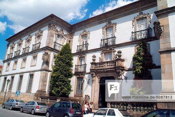 Europa  Bibliotheksgebäude  Braga  Portugal  Stadtbücherei