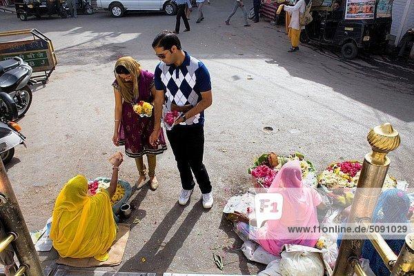 Blume  Eingang  kaufen  Indien  Rajasthan  Udaipur