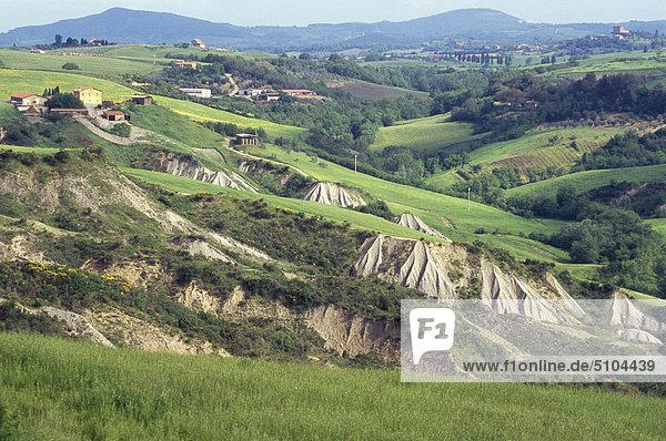 Landschaft Italien Toskana