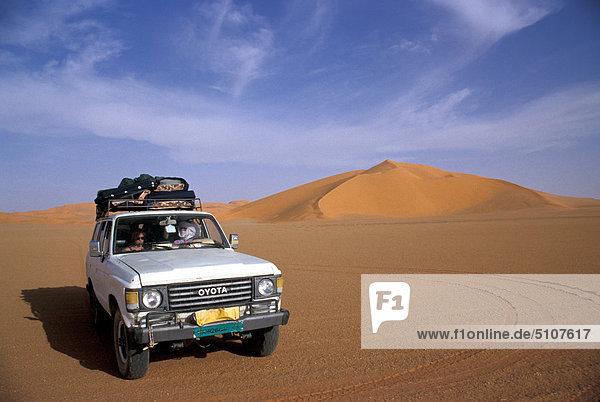 Libyen  Erg Mourzouk. Sand-Dünen Libyen, Erg Mourzouk. Sand-Dünen