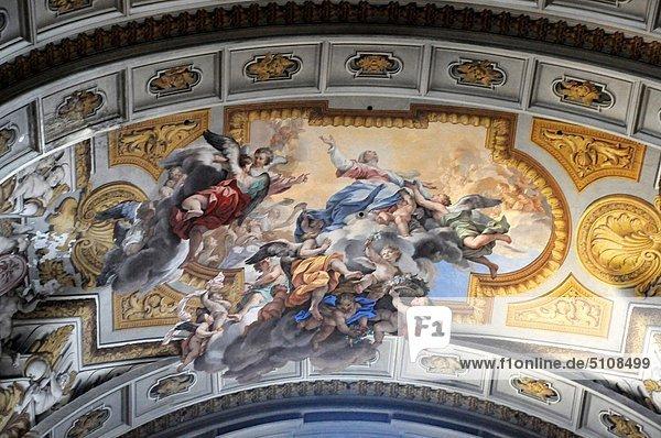 Rom Hauptstadt Latium Freske Italien
