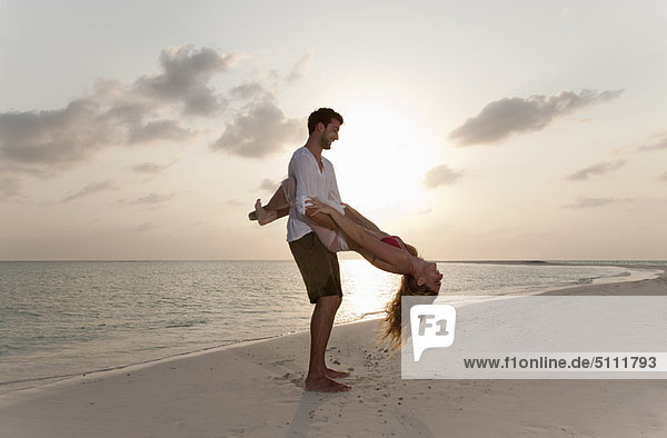 Strand  Sonnenuntergang  spielen