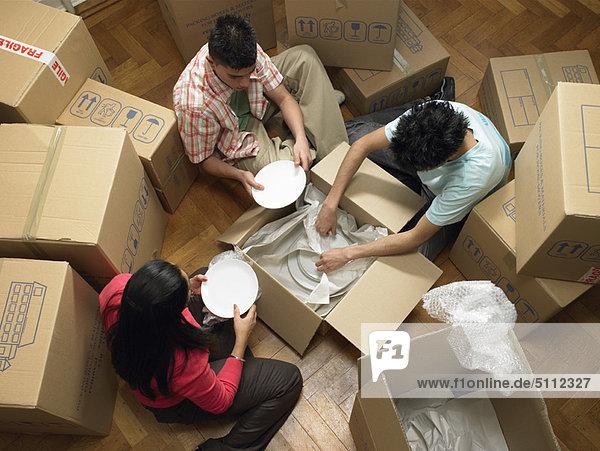 verpacken Pappschachtel Pappkarton Pappe