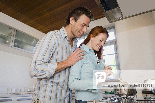 Zusammenhalt  kochen  Küche