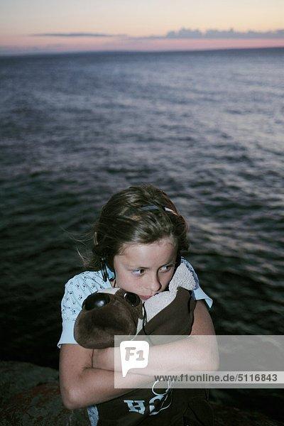 Mädchen zehn Jahre alt  Schweden