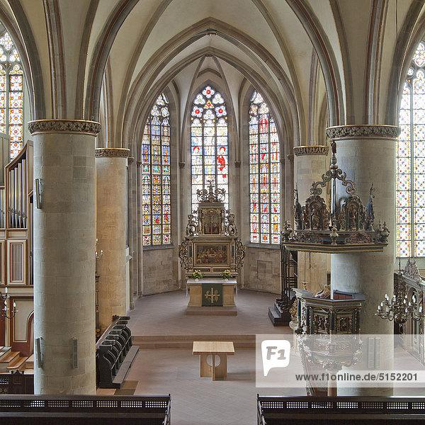 Johanniskirche  Herford  Nordrhein-Westfalen  Deutschland  Europa