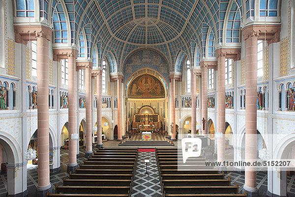 St. Nikolauskirche  Stoppenberg  Essen  Nordrhein-Westfalen  Deutschland  Europa