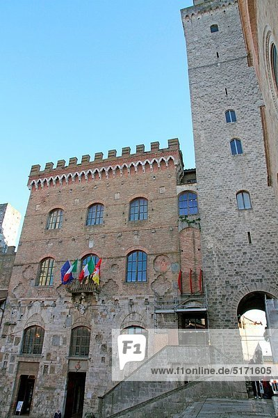 UNESCO-Welterbe  Italien  San Gimignano  Toskana