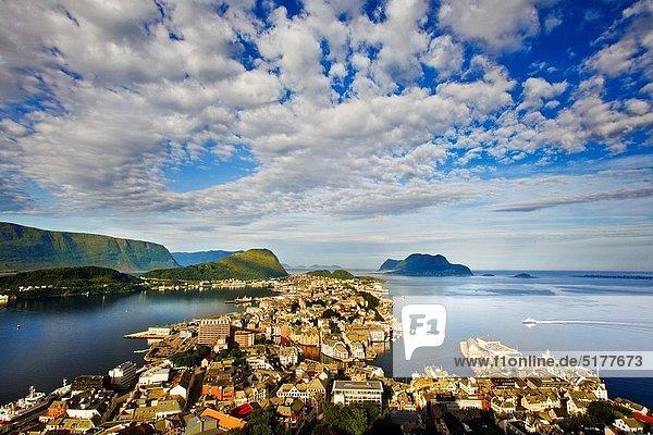 Alesund More og Romsdal  Norwegian fjords Norway
