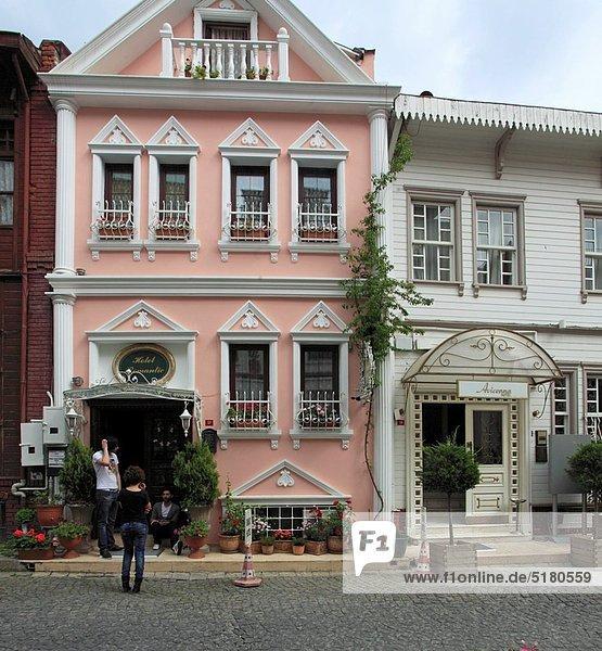 Lifestyle Tradition Wohnhaus Istanbul Türkei
