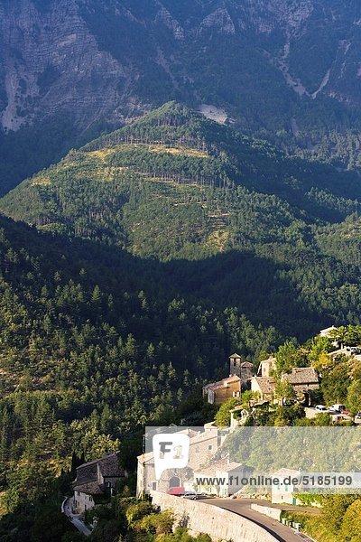 Berg Dorf Provence - Alpes-Cote d Azur