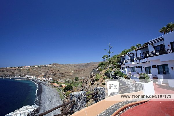 Canary Islands  La Gomera  Playa Santiago  Jardin Tecina Resort