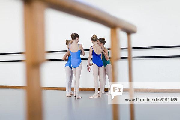 sprechen  Tänzer  Studioaufnahme  Ballett