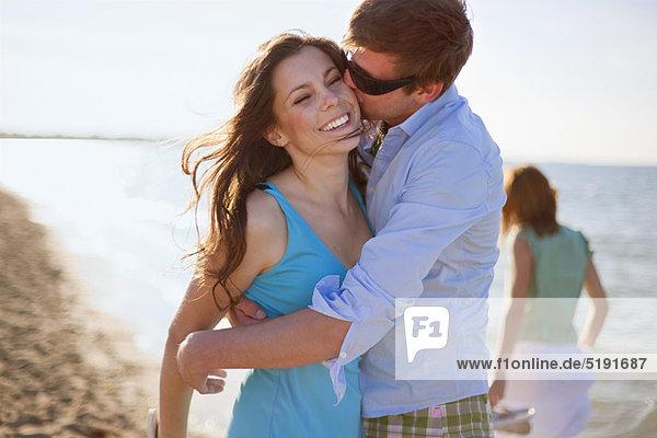 Strand  küssen