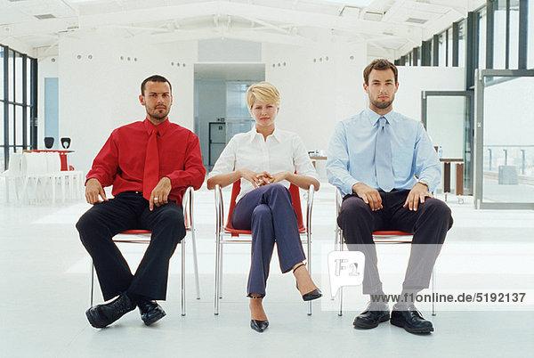 sitzend Mensch Büro Menschen Business