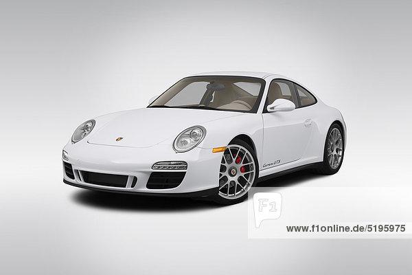 weiß frontal Ansicht Flachwinkelansicht Porsche 911 Winkel Porsche