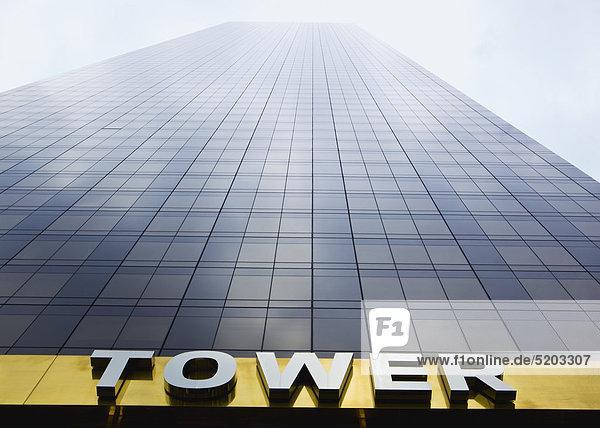 Wolkenkratzer  Trump Tower  New York  USA