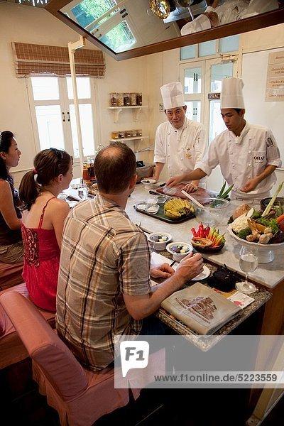 Bangkok  Hauptstadt  kochen  Hotel  Ostasien  Schule  Mandarine  Südostasien  Asien  thailändisch  Thailand
