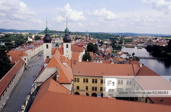 The South Bohemian historic town of Telc is on the list of UNESCO´s World Heritage sites