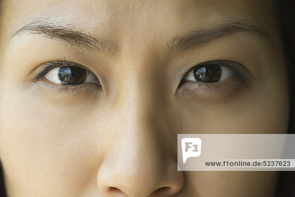 Face of Woman  zugeschnitten