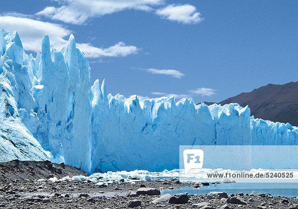 Gletscherabbruch  Perito Moreno Gletscher  Argentinien