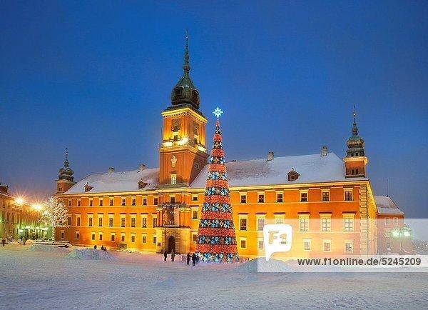Warschau  Hauptstadt  Europa  Polen