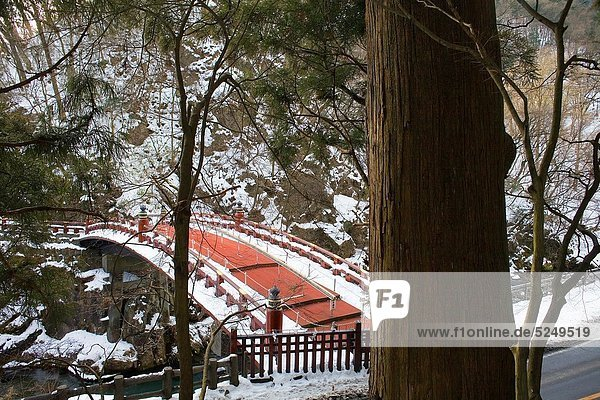 Shinkyo sacred bridge Nikko Japan