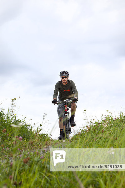 Mountainbiker,  St. Johann,  Tirol,  Österreich