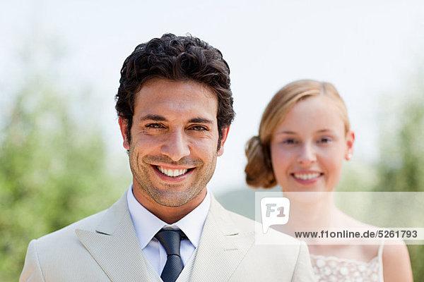 Braut und Bräutigam  portrait Braut und Bräutigam, portrait