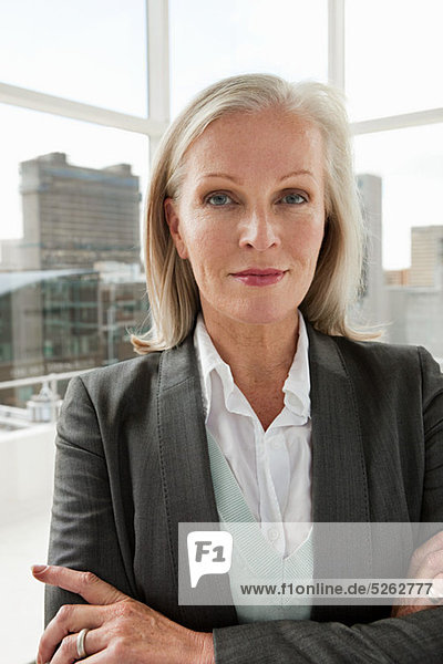 Reife Geschäftsfrau  Porträt