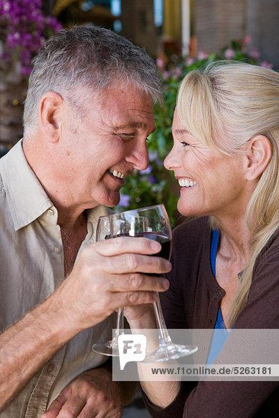 Wein reifer Erwachsene reife Erwachsene