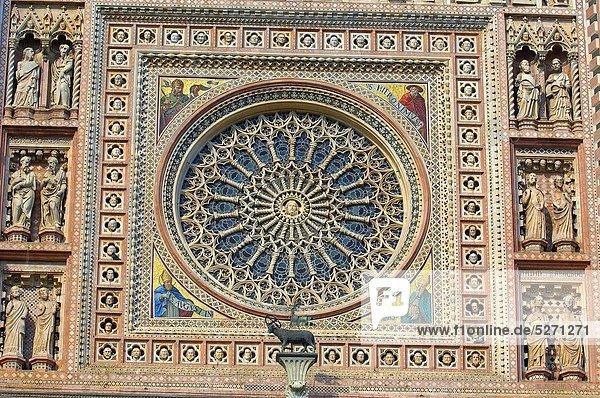 Kathedrale  Duomo Santa Maria Assunta  Italien  Orvieto  Umbrien