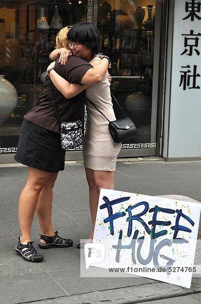 Seoul  Hauptstadt  Freiheit  umarmen