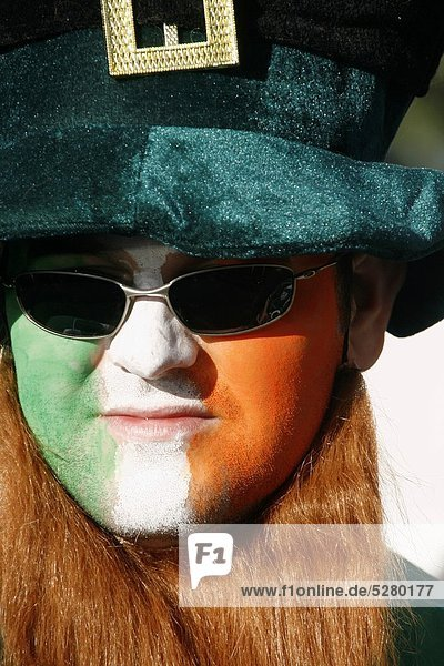 Rom Hauptstadt Ventilator 6 Irland Italien Rugby