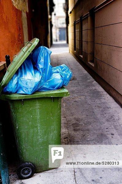 Müllsack  Spanien
