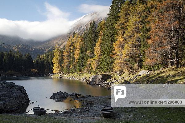Obernberger See  Obernberg  Tirol  ÷sterreich  Europa