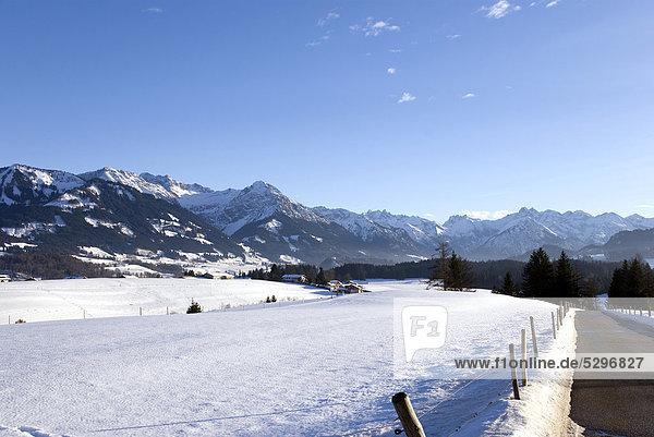 Allg‰uer Alpen  Oberstdorf  Oberallg‰u  Allg‰u  Bayern  Deutschland  Europa