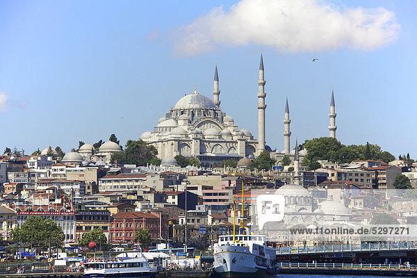 S¸leymaniye Camii Moschee  Istanbul  T¸rkei